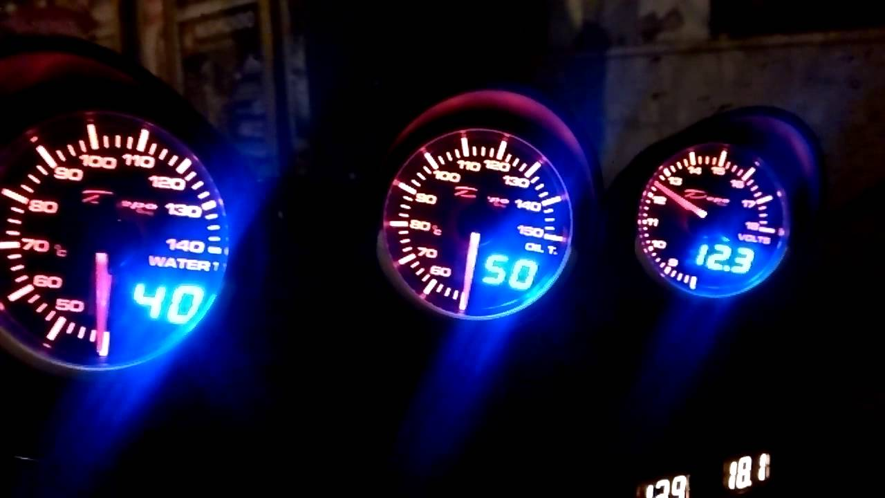 Depo Racing Gauge : Depo racing gauges youtube