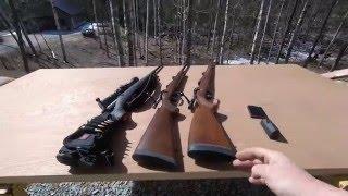 CZ 527 Carbine 7.62x39 and CZ 550FS 6.5x55SE Side By Side Comparison