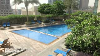 Semi Burj Khalifa View One BR - for rent -  Dubai DownTown – Lofts West