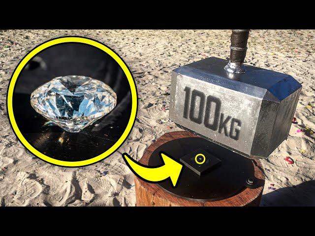 Can THOR'S HAMMER Smash a DIAMOND?