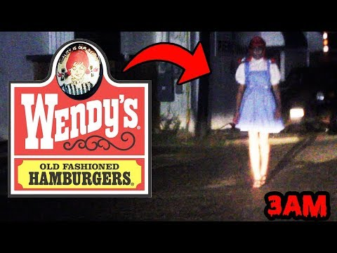 DONT GO TO WENDY'S AT 3AM OR WENDY.EXE WILL APPEAR! | HAUNTED WENDYS CAUGHT ON CAMERA IN TEXAS!
