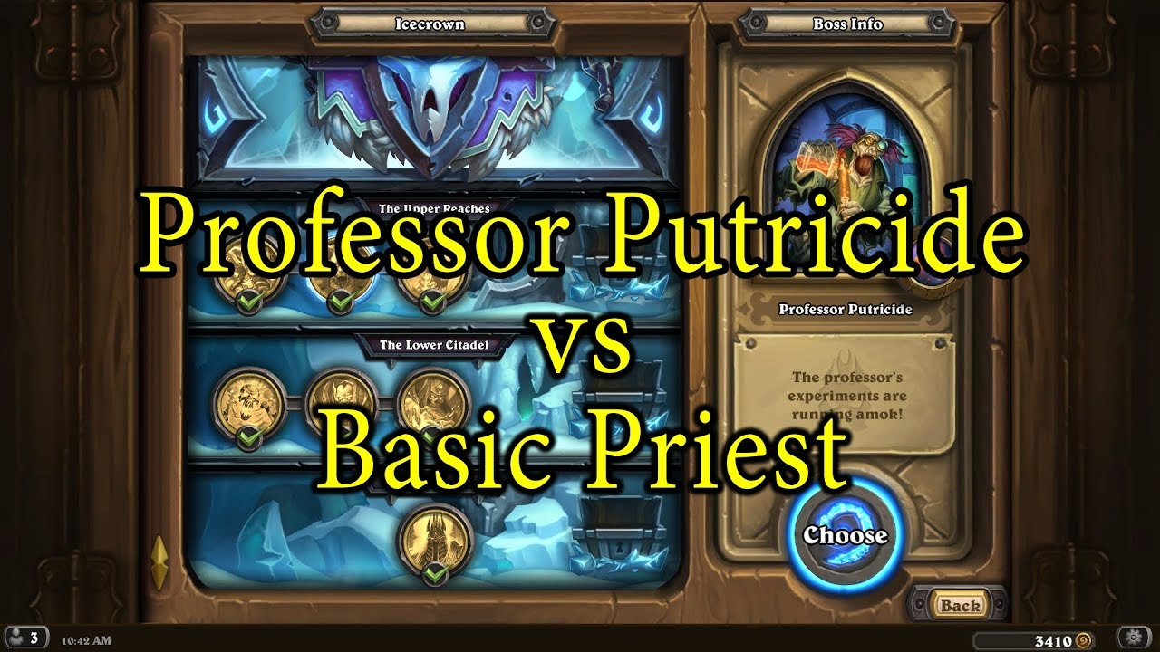 deck to beat Professor Putricide Archives - HS Decks and Guides