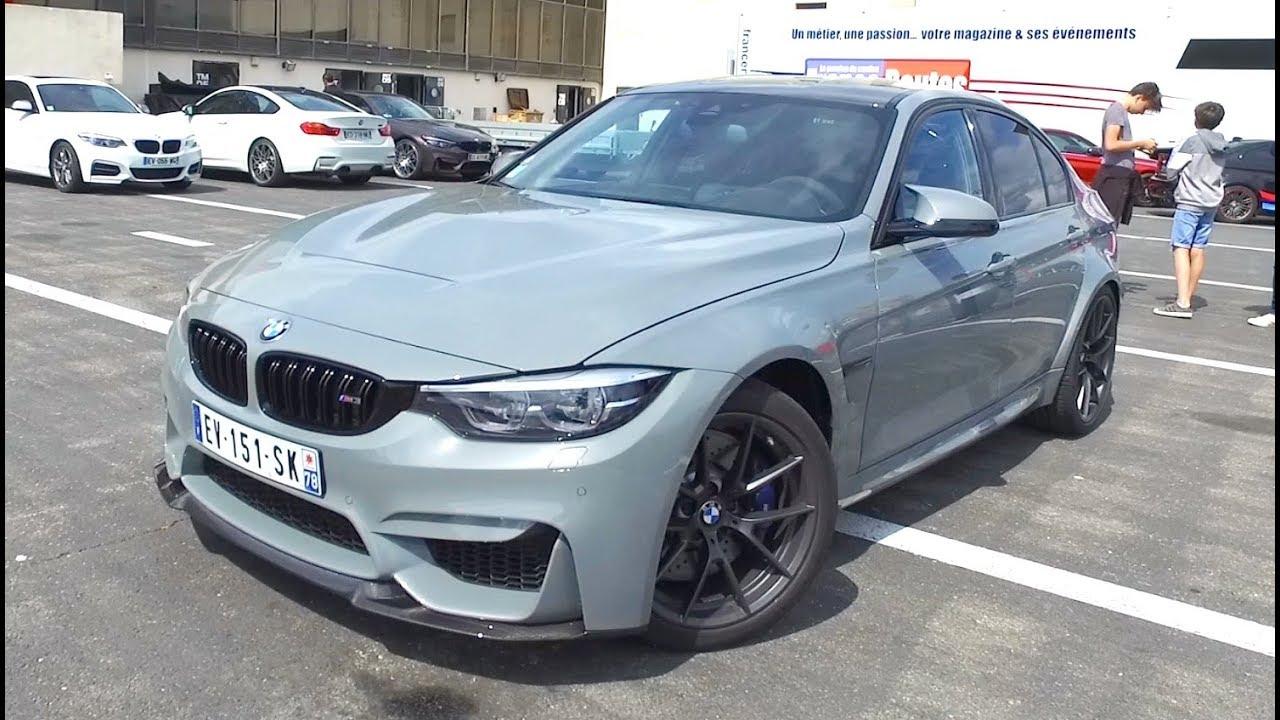 BMW M3 CS SUR CIRCUIT : ÇA SECOUE ! BMW PASSION DAYS 2018