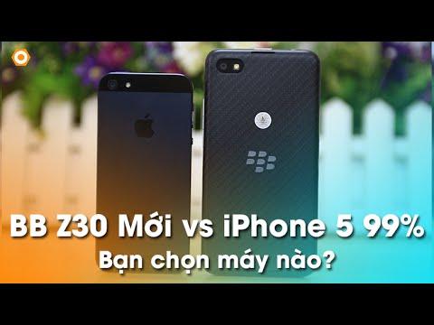 So sánh Blackberry Z30 vs iPhone 5: Bạn chọn giải trí hay công việc?