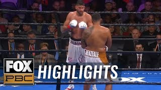 Dominic Breazeale KO's Carlos Negron, calls out Deontay Wilder during the first fight from Brooklyn, NY. #FOXSports #PBC #DominicBreazeale #CarlosNegrón ...
