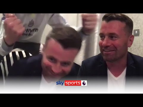 Shay Given's son gatecrashes live Sky Sports News interview on Newcastle takeover! 😂