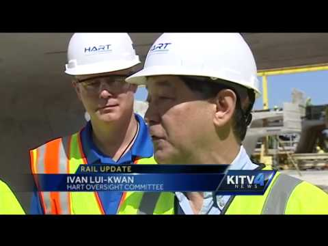 Honolulu rail right on track to completion in 2017