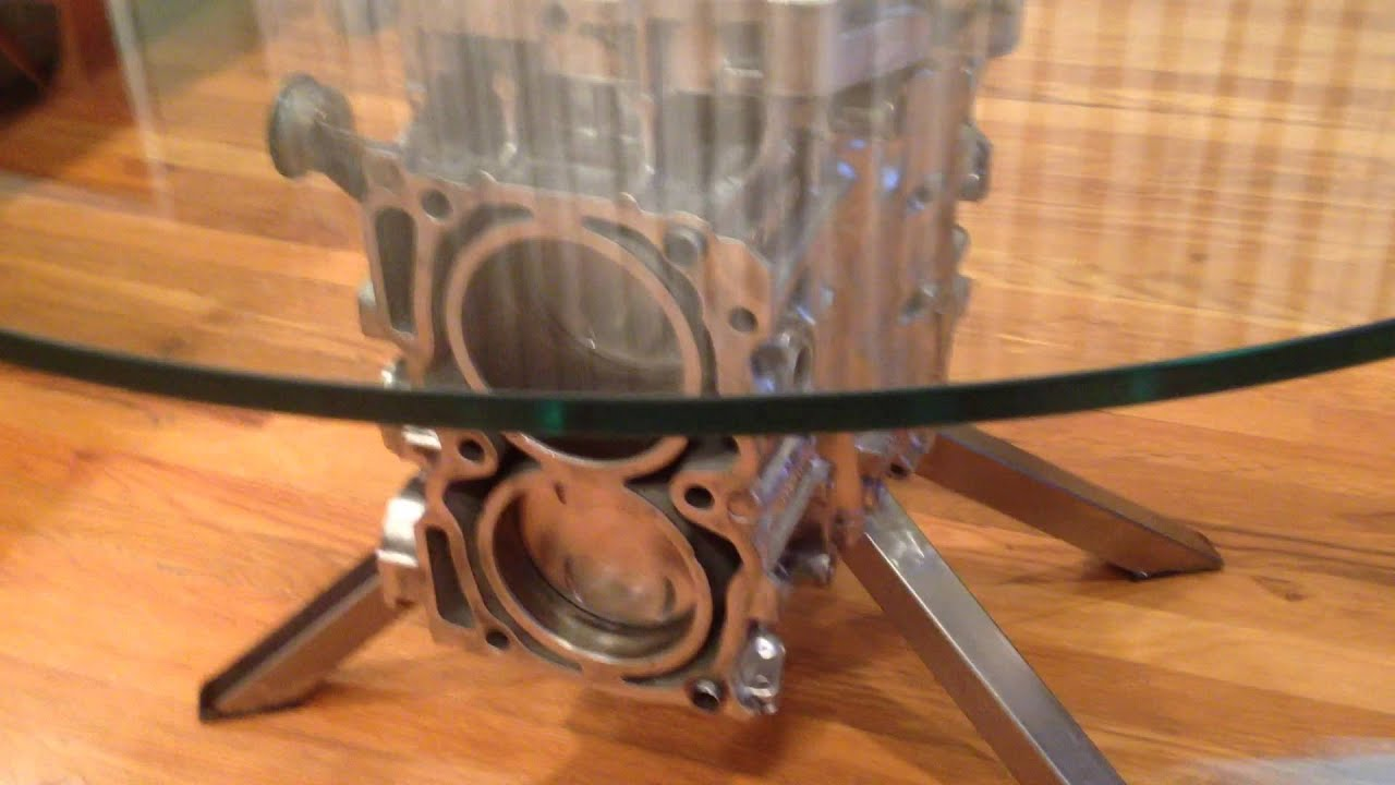Engine Coffee Table YouTube