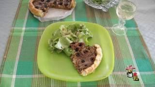 Camp Oven Leek & Onion Tart