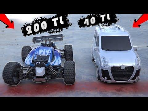 200TL ARABA VS 40TL ARABA! (50 KM HIZ)