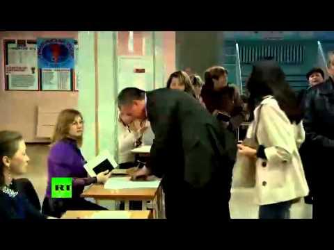 Сергей Аксенов проголосовал на референдуме о статусе Крыма
