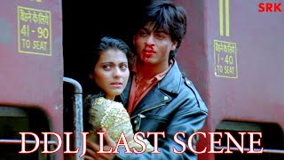 DDLJ Last Train Scene  Raj  Simran Best Love Story