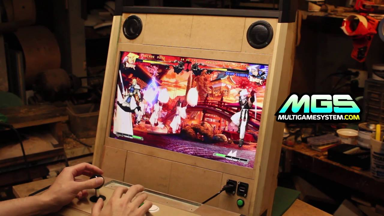 Multi Game System : MGS 005 Test Run (Vewlix style bartop) - YouTube