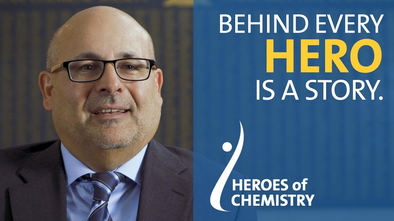 Heroes of Chemistry winner BMS: Carl Decicco presenting the story behind Daklinza® and Sunvepra™ #1