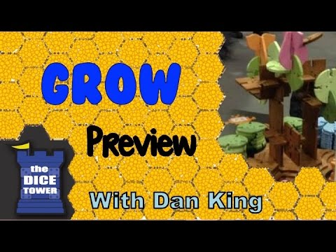 Grow: The Organic Building Game Preview - with Dan King