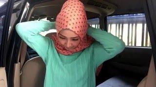 Easy hijab tutorial # 69 ala bella (bahan shawl sifon)