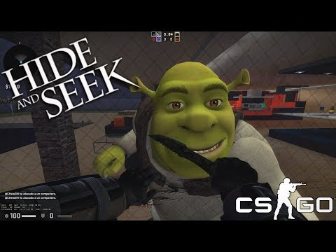 Counter-Strike Global Offensive ქართულად Hide and seek დამალობანა &  შრეკი thumbnail