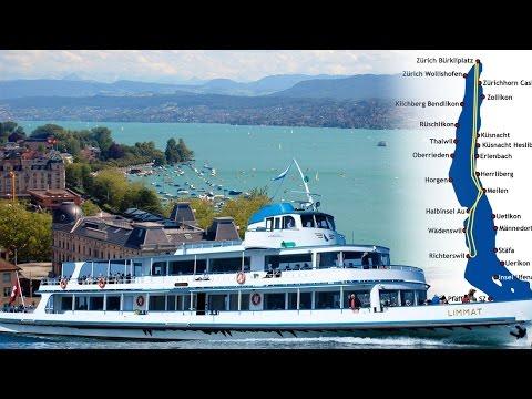 Lake Zürich Switzerland - Tina Turner's house Chateau Algonquin china