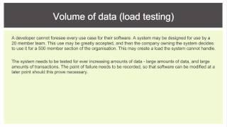 12 SDD - Testing - Live Test Data
