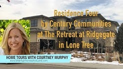New Homes in Lone Tree Colorado - Residence Four by Century Communities at The Retreat at Ridgegate