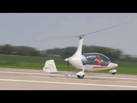 Czech 'GyroDrive' beats flying cars to hybrid licence