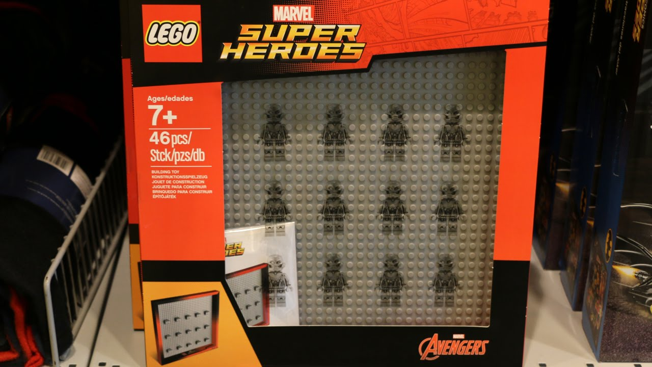 LEGO Marvel Avengers Minifigure Frame! - YouTube