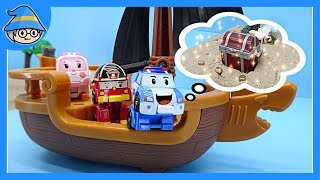Robocar Poli Leave the voyage to find the treasure. Let