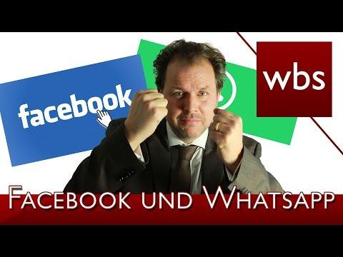 Facebook darf keine Daten von WhatsApp-Nutzern speichern | Rechtsanwalt Christian Solmecke