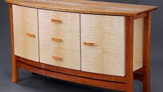 Making A Veneered Sideboard Part 2, Bent Laminated Stretcher: Andrew Pitts~furnituremaker