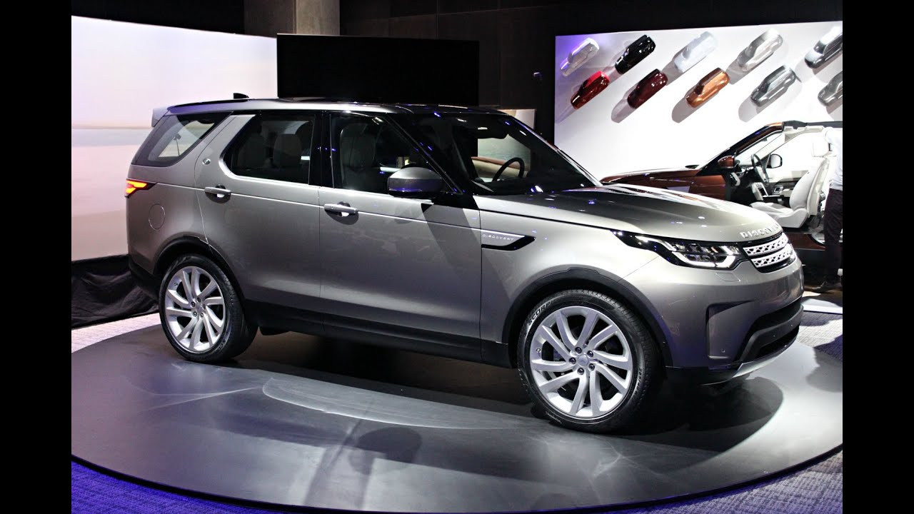 mondial de paris 2016 land rover discovery 5 le petit range youtube. Black Bedroom Furniture Sets. Home Design Ideas