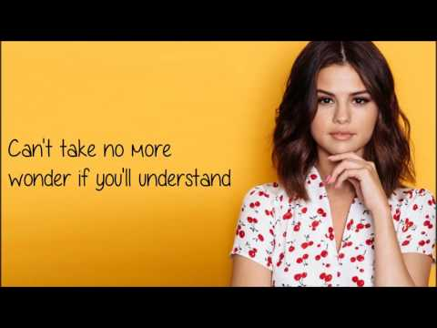 Selena Gomez - Only You (Lyrics)