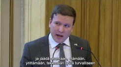 Maahanmuuttokeskustelua Turun valtuustossa 20.3.2017