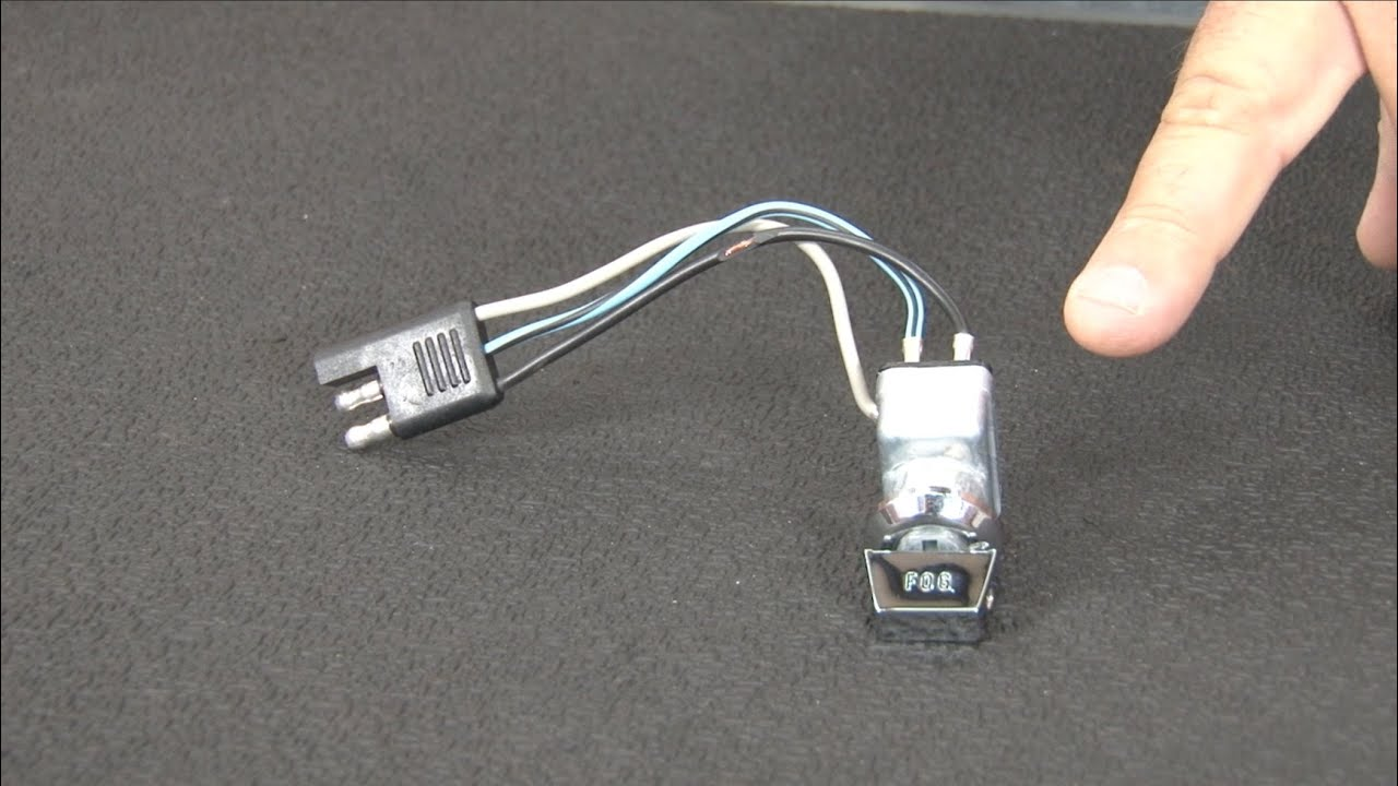 maxresdefault mustang scott drake fog light switch assembly 1965 1966 youtube 1966 mustang fog light wiring diagram at bayanpartner.co