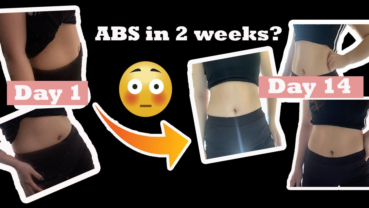 ABS IN 2 WEEKS? I tried Chloe Ting's Abs Challenge ...