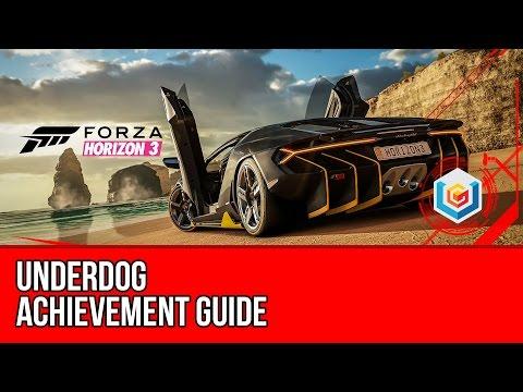 Forza Horizon 3 - Underdog Achievement Guide (3 Stars PR Stunt in a C Class Car)