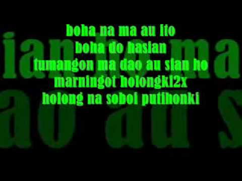 Holong Naso Tarputik   Style Voice Lyrics