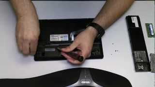 ASUS EEE Netbook Hard Drive Removal Upgrade