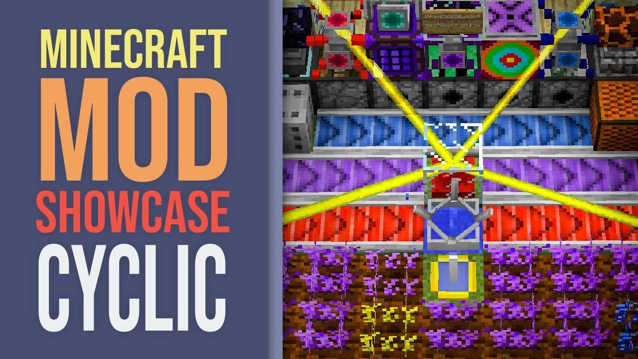 Minecraft Mod Showcase: Cyclic