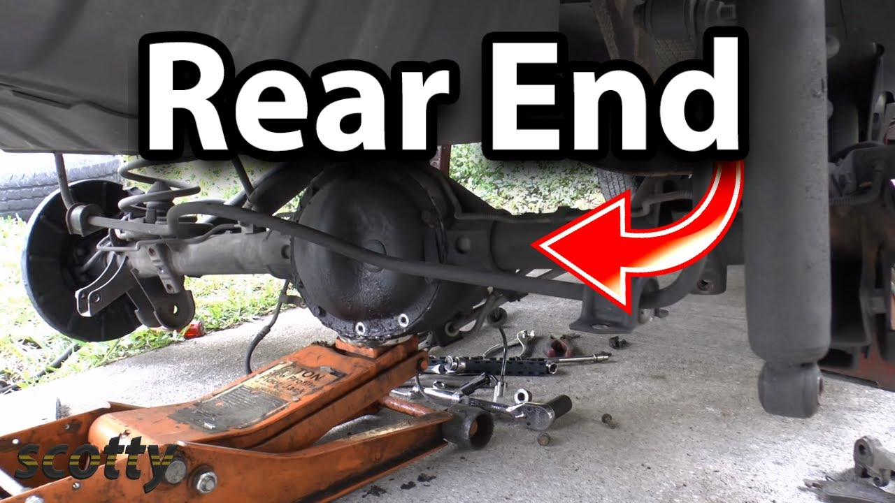 How to Replace Rear End on Your Car (Differential)  YouTube