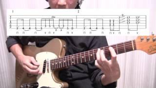 –�tab譜付■カッコイイ!ロックギターフレーズ解説lenny Kravitz Rock And Roll Is Dead