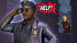 Officer Otz saves the day again | Dead by Daylight