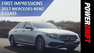 Mercedes Benz E-Class (2017) : Whats new? : PowerDrift