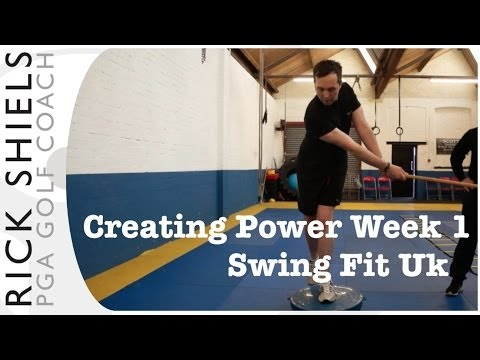 Golf Strength Training Week 1