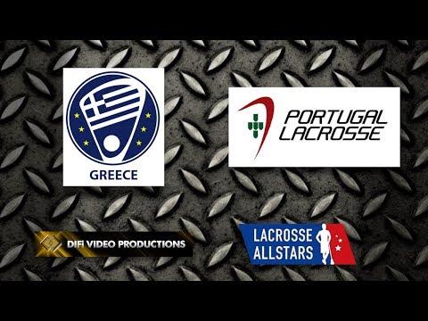 Greece vs Portugal | International Lacrosse Showdown