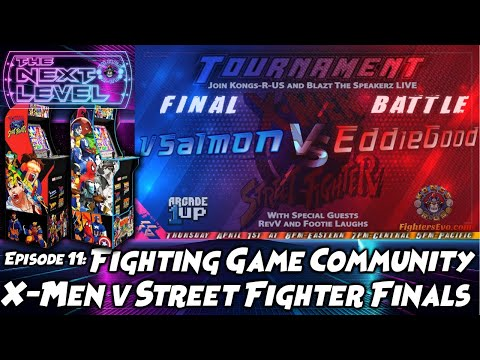 Arcade1Up X-Men vs Street Fighter Tournament Finals (The Next Level: Ep 11) from Kongs-R-Us