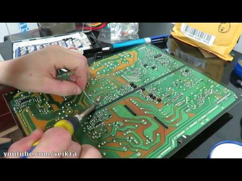 LG 50pk550 power supply repair eay60968801