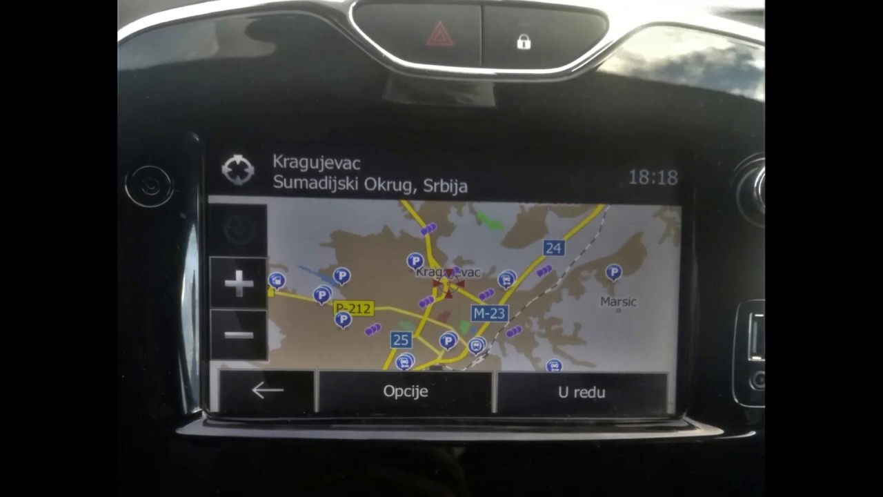 Renault LG Media Nav Firmware & Map 2019 Update