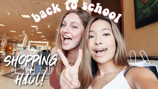 BACK TO SCHOOL SHOPPING + CLOTHING HAUL!!