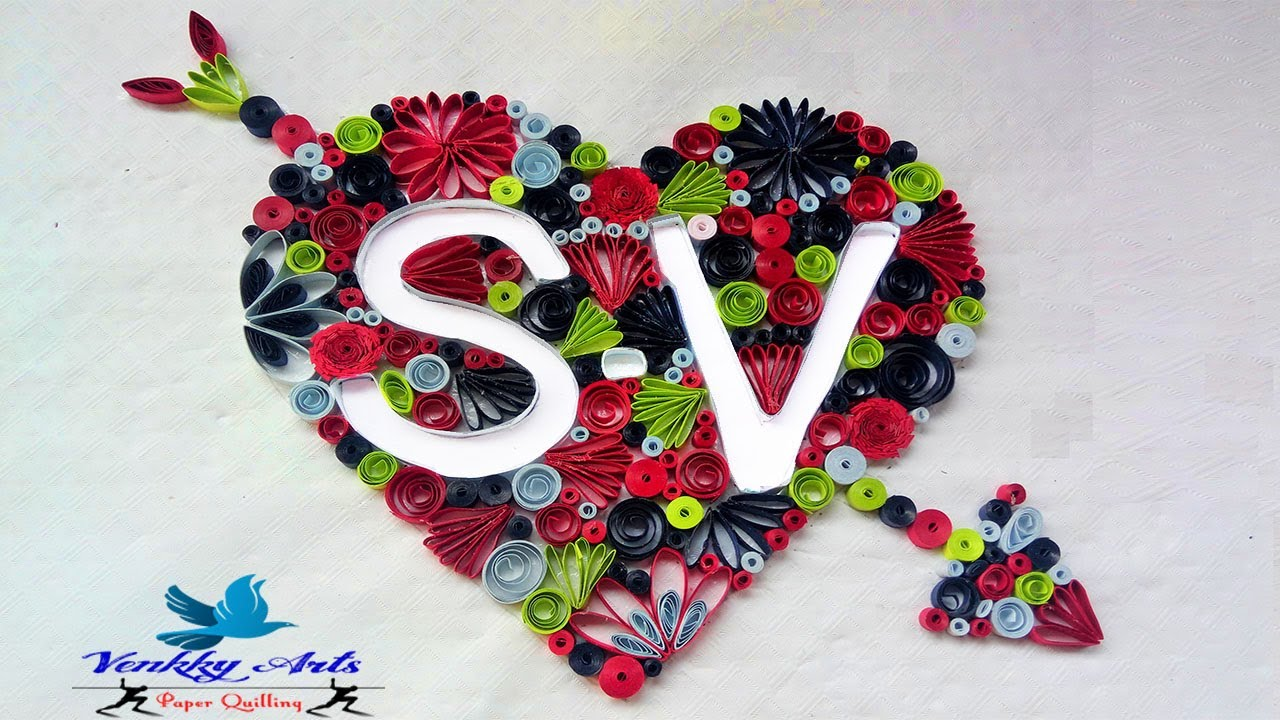 How To Make Paper Quilling Letters