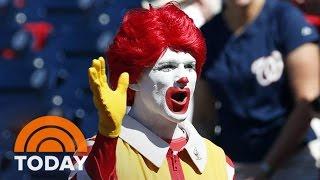 McDonald's Limits Ronald's Appearances As Creepy Clown Craze Grows   TODAY